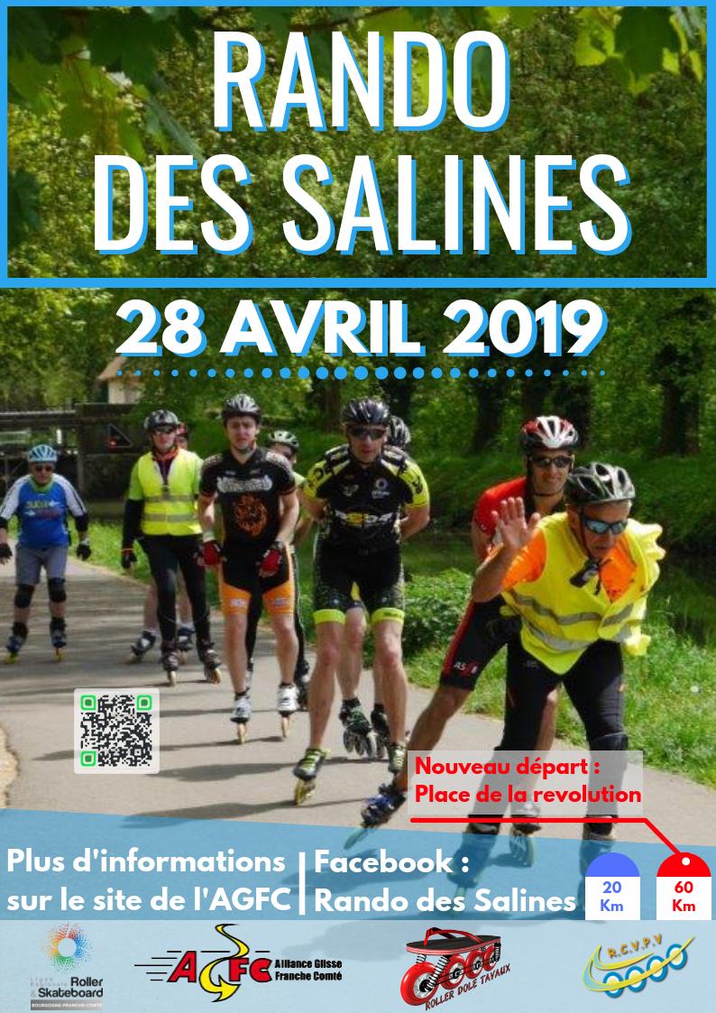 RANDO DES SALINES LE 28 AVRIL 2019