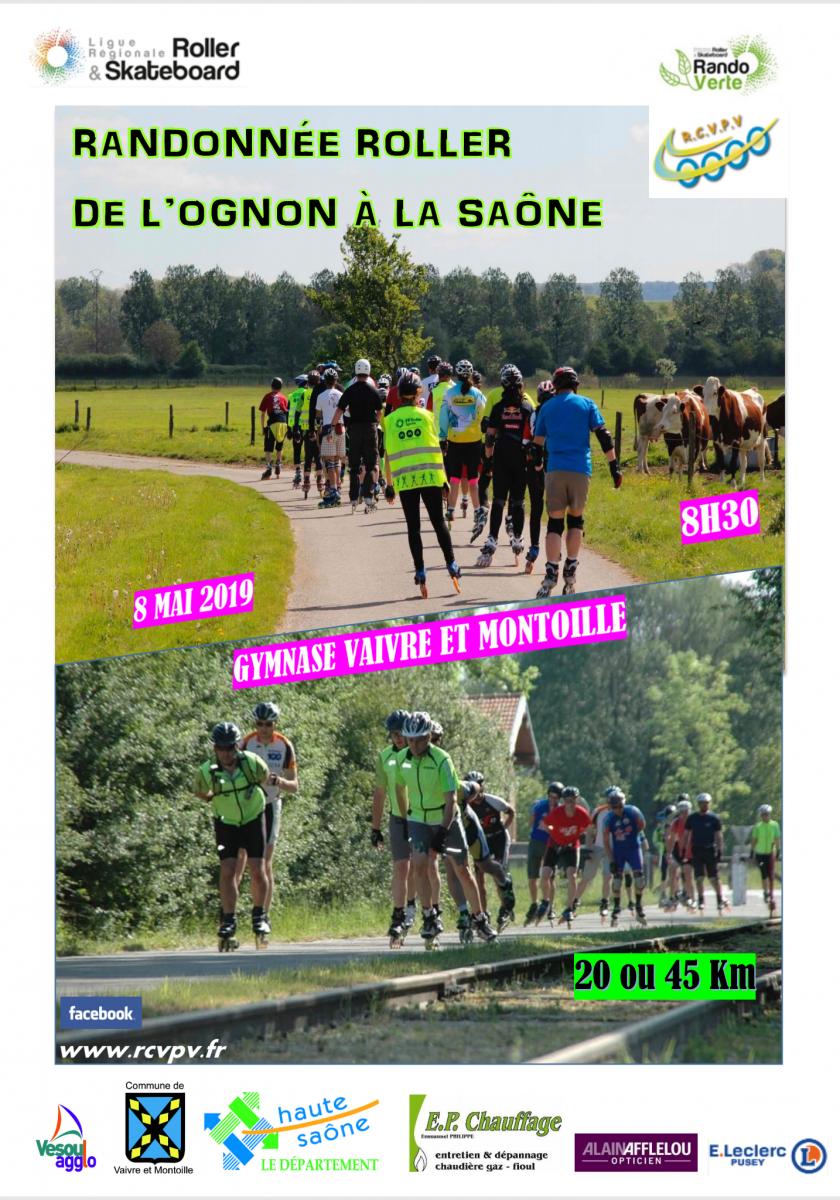 Rando de l'Ognon à la Saône le mercredi 8 mai 2019