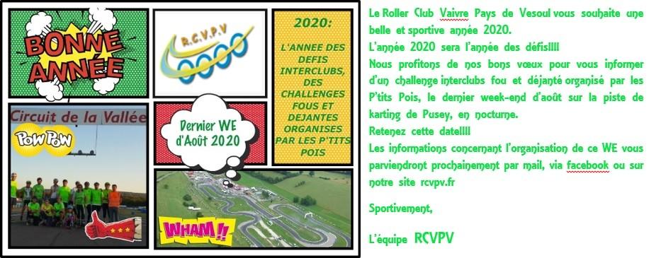 BONNE ANNEE ET POUR 2020 DES CHALLENGES FOUS ET DEJANTES !!!!