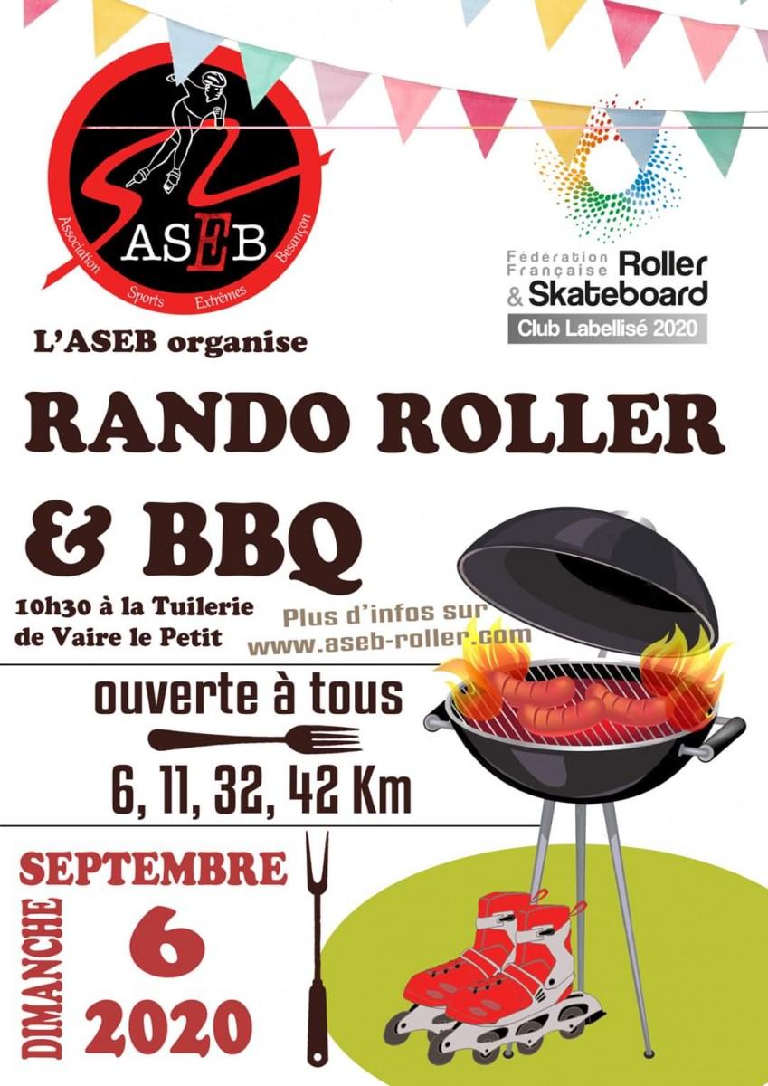 RANDO BBQ ASEB LE 6 SEPTEMBRE 2020